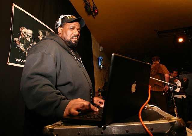 Header of Afrika Bambaataa