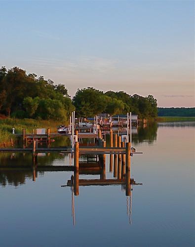 water reflections dusk piers sunsets maryland rivers smorgasbord patuxentriver southernmaryland calvertcountymaryland abigfave leicadlux3 dazzlingshots huntingtownmaryland lowermarlboromaryland