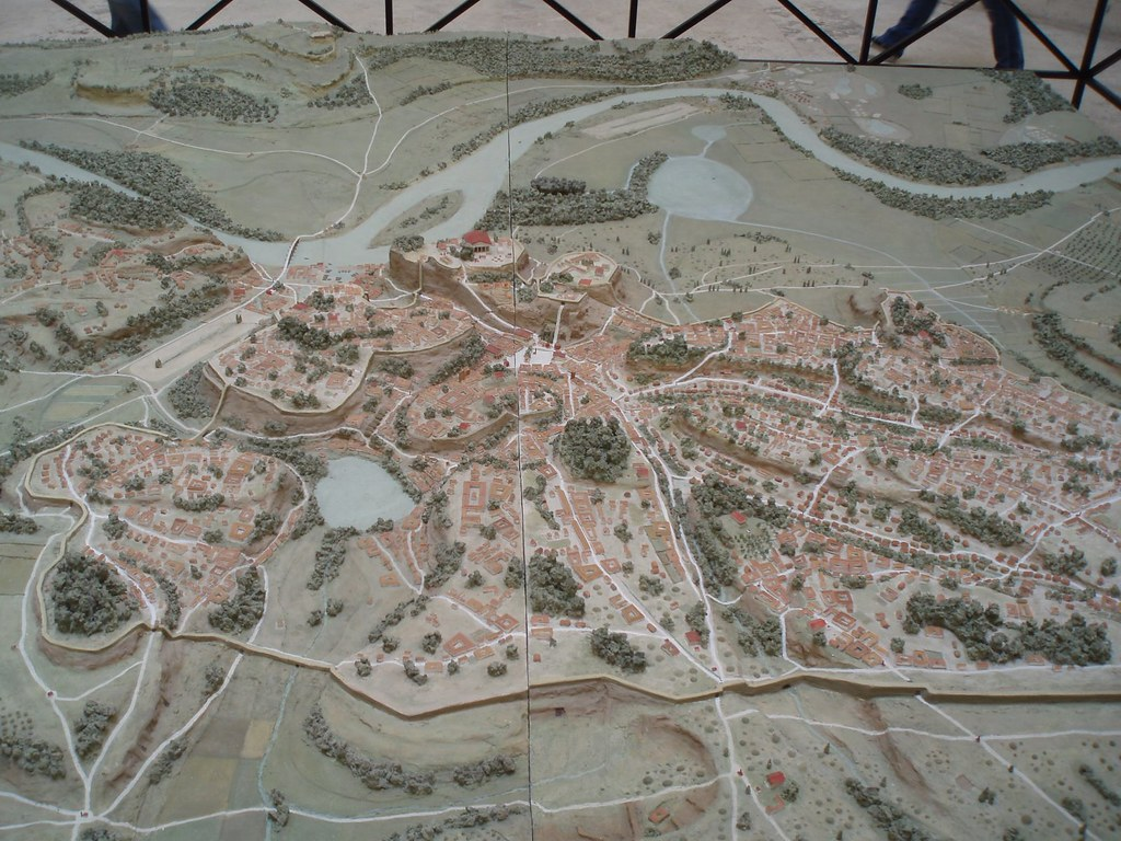 Rome. Model's of Ancient Rome: Lorenzo Quilici - Roma Arcaica / pre- Imperial Fora ([Scale 1:1000] (c.1991).