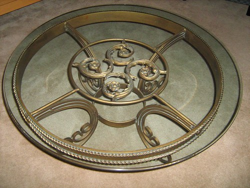 Top view of coffee table - $175