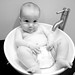 Quinn in the sink by Katie Cawley