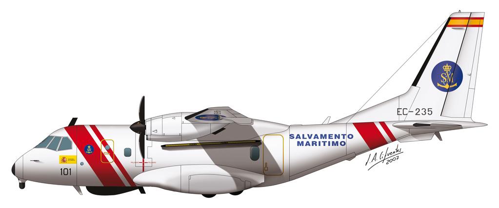 CN-235 Salvamento Maritimo