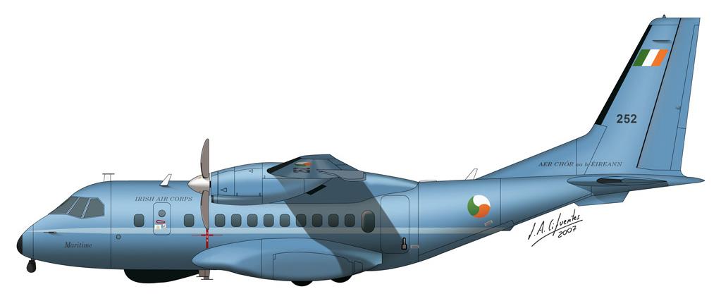 CN-235 Irlanda