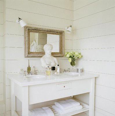 śliczna Biała łazienka Flickr Photo Sharing