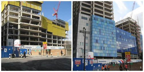 How the Royal London Hospital construction is developing