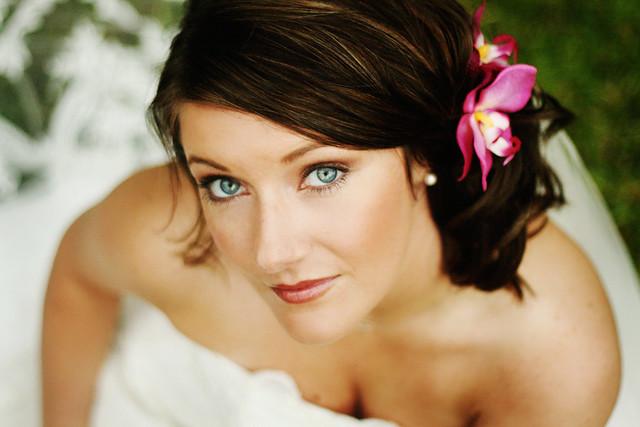Kimberly  Scott - blushing bride