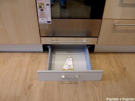 Tiroir pour meuble de cuisine meuble de cuisine pour for Eclairage tiroir cuisine