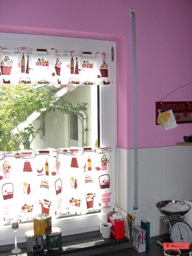 Küchenvorhang Grün ~ küchenvorhang möbelideen