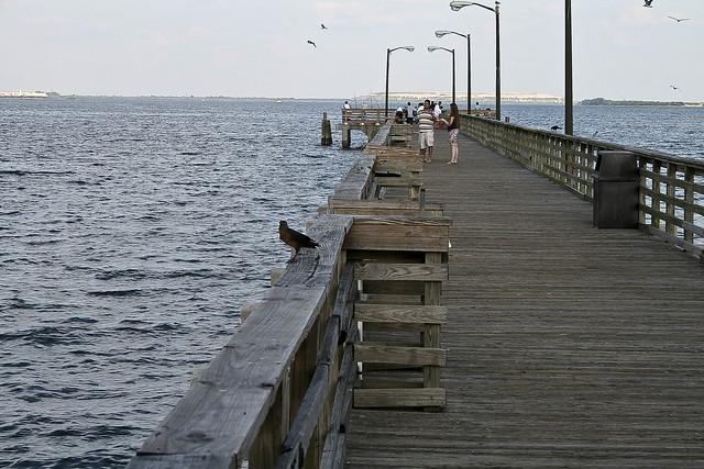Ballast point pier flickr photo sharing for Jones beach fishing pier