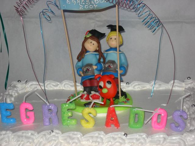 Centro de torta egresados jardin de infantes mu ecos for Jardin de infantes