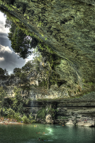 pool rock swimming austin waterfall texas tx cave hdr swimminghole hamiltonpool photomatix 6exp top20texas bestoftexas