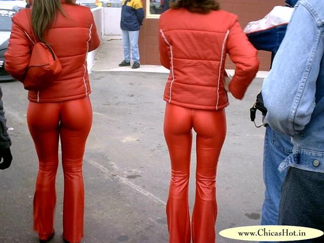 Girls Skin Tight Dress Pants