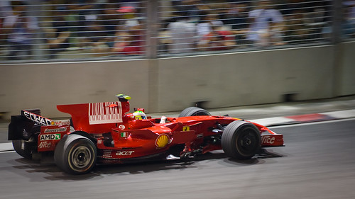 F1 - Massa - Singapore GP -on pole