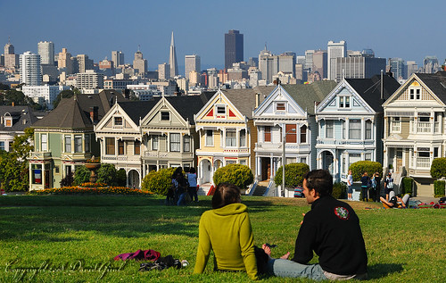 Romantic afternoon at Alamo Square | RAW