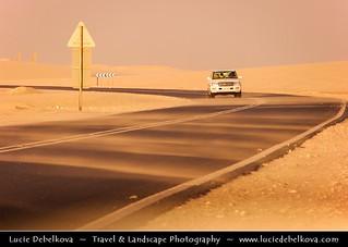 Qatar - Drive throught Land of Sand