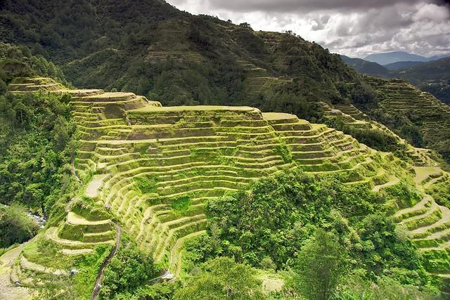 Las terrazas de arroz de Banaue, Filipinas