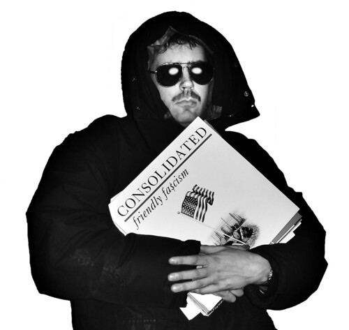 Self as UNABOMBER, after the famous FBI picture