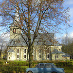 Lada and Tapa Church - Estonia