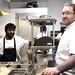 Chefs Alvin Pillay and Robert Belcham