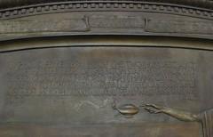 Eaton's War memorial plates