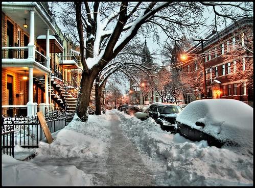 street leica city winter snow ice car night landscape lumix cityscape montréal montreal hiver voiture panasonic explore neige rue ville glace lumixaward photoquebec dmcl10