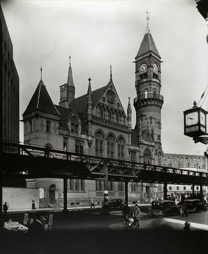 Jefferson Market Court, southwest corner of Sixth Avenue and...