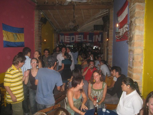 Tuesday night at El Eslabon Prendido in Medellin