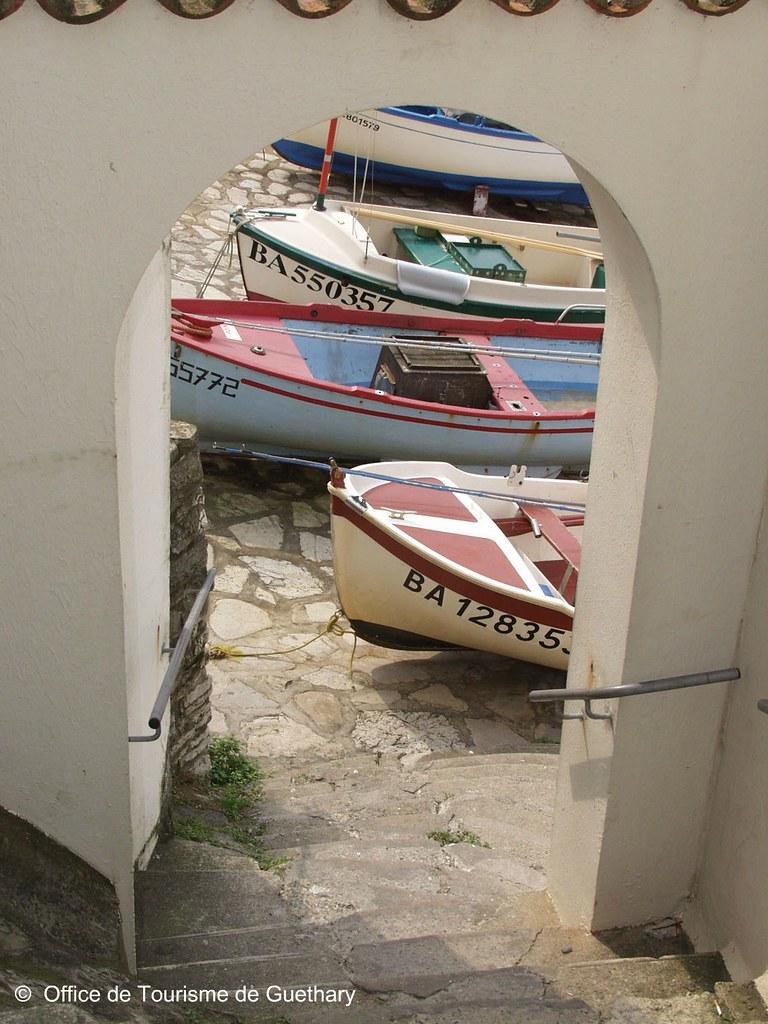 Barques Guéthary ©  Office de Tourisme de Guéthary
