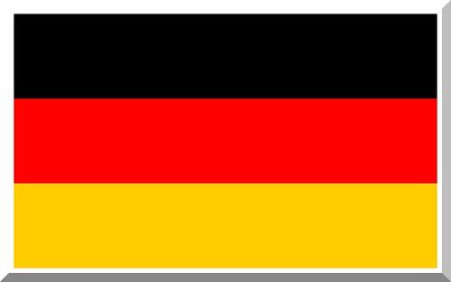 Original German   Flag  (public)   . Deutschlandflagge, Deutschlandfahne.          Die Deutschlandflagge brauchts DU  zur Fussball WM, EM  ( Männer und Frauen)