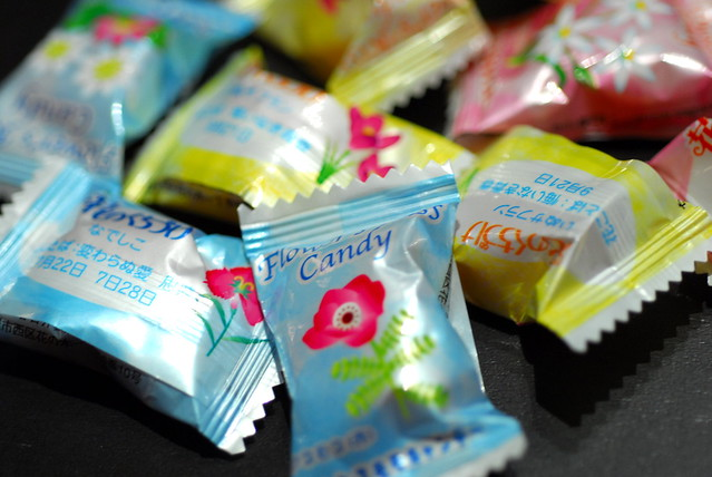flower's kiss candy