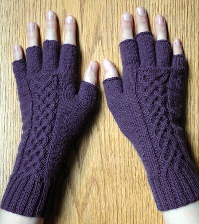 Cable Knit Gloves Pattern Patterns Gallery
