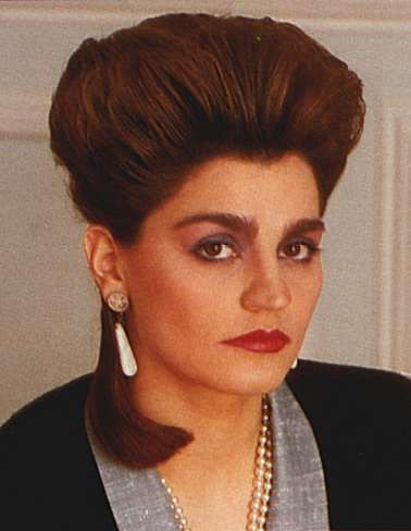 80s Updo 80s hairstyle 178