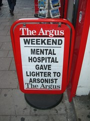 Evening Argus Headline