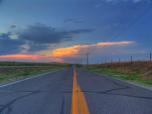 sunset sky cloud sunrise colorado sony rays raod thunder mikechristensen spoiler3