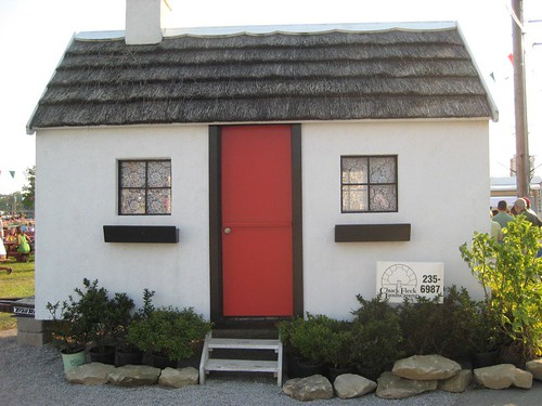 fake Irish cottage