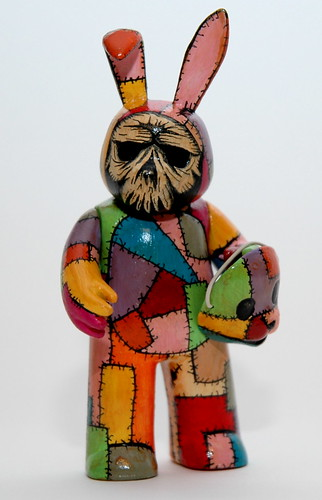 Patches custom muggs bunny | by Creepy Uncle J