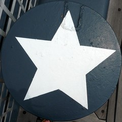 Star peg in a square hole
