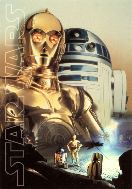 R2d2 And C3po In Movie Movies - Star Wars, C-...