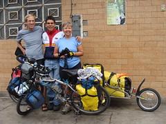 Leaving Trujillo - Randy, Lucho, Nancy