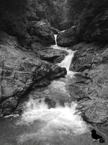 longexposure water monochrome river waterfall northcarolina