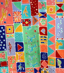 pattern(0.0), quilt(1.0), art(1.0), textile(1.0), child art(1.0), design(1.0),