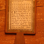 Minuteman National Park, Hartwell Tavern, prayer reading paddle