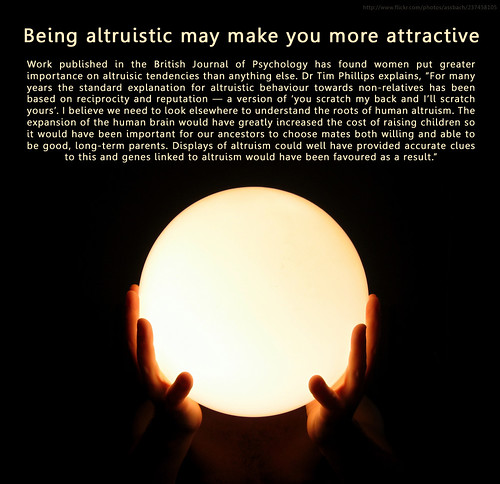 altruism makes you more attractive