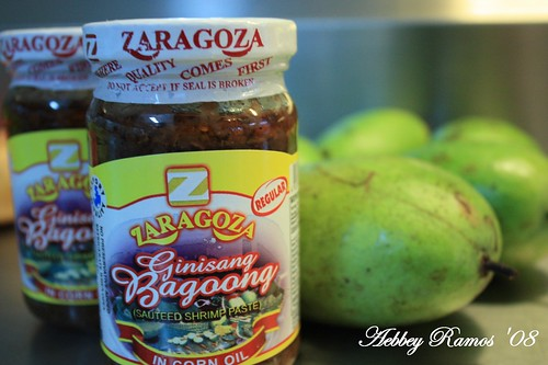 Bagoong at Manggang Hilaw