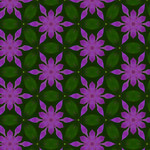 Purple Petal Flowers Layered Over Blurred Green Leaf Background 1680 x 1050