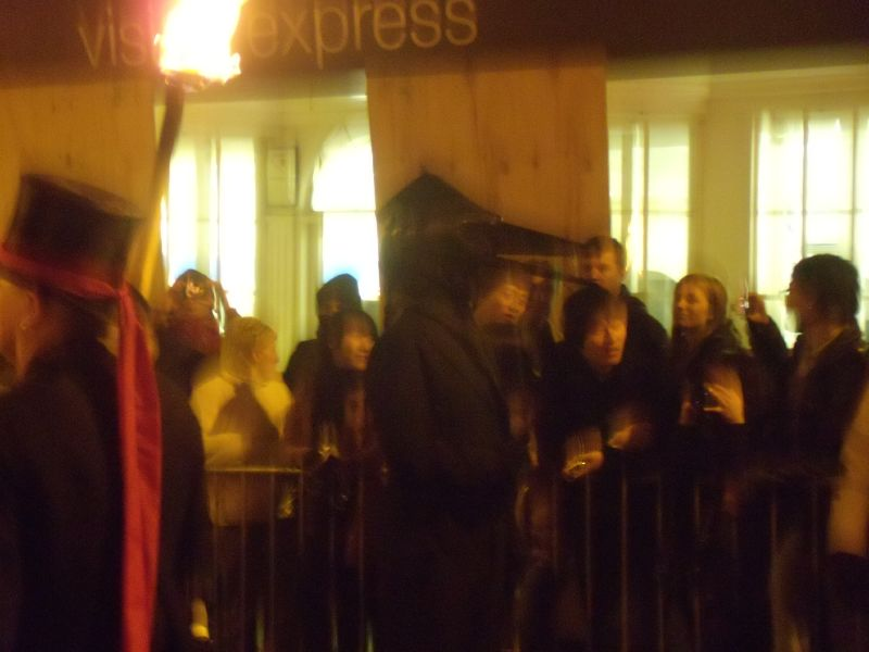Birdheaded man Lewes circular via Rodmell Lewes bonfire night