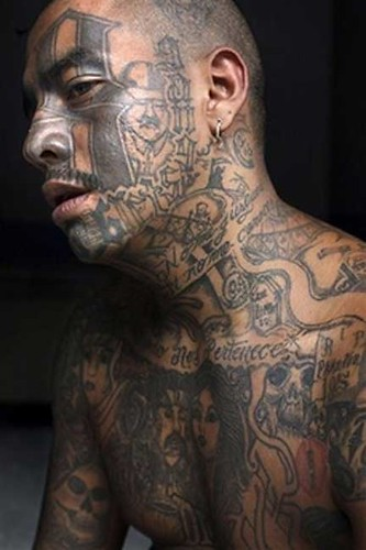 Gangster tattoos gallery best tattoo for Gangster disciple tattoos