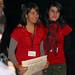 Jue, 20/11/2008 - 13:52 - De esquerda a dereita, Laura Rodríguez e Antía Domínguez, do Colexio Alborada de Vigo (2º premio), e Rodrigo Barreiro e Juan Sebastián Pirola, do Colexio Guillelme Brown de Pereiro de Aguiar, Ourense (1º premio). Galiciencia. 20 de novembro de 2008.  Laura Rodríguez e Antía Domínguez, do Colexio Alborada de Vigo (2º premio). Galiciencia. 20 de novembro de 2008.