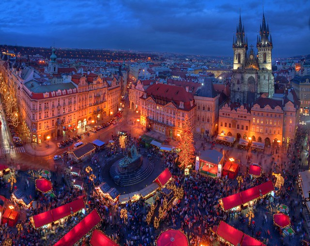 Prague Christmas market 2007 revisited: looking forwards to this year's event