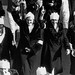 <p>Thousands of women marched on the state capitol in Springfield, IL on January 26, 1933</p>